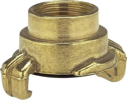 """GARDENA 7106-20 Messing Klauenkupplung-Gewindestück Klauenkupplung, 18,7 mm (1/2"""") IG"""