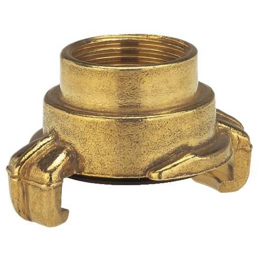 """GARDENA 7108-20 Messing Klauenkupplung-Gewindestück Klauenkupplung, 24,2 mm (3/4"""") IG"""