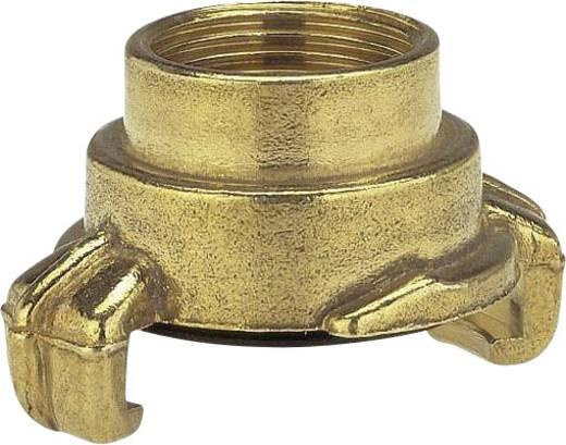 """GARDENA 7110-20 Messing Klauenkupplung-Gewindestück Klauenkupplung, 39,0 mm (1 1/4"""") IG"""