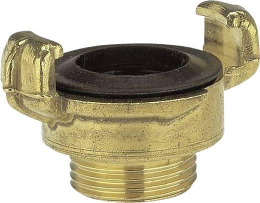 """GARDENA 7114-20 Messing Klauenkupplung-Gewindestück Klauenkupplung, 26,44 mm (3/4"""") AG"""