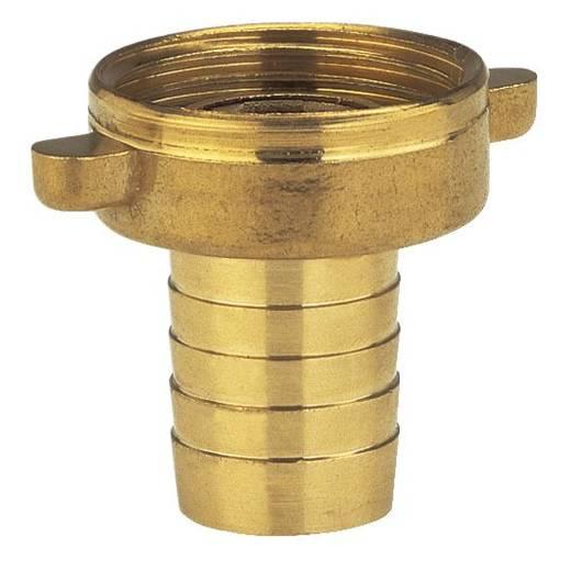 """GARDENA 7140-20 Messing Schlauch-Verschraubung 24,2 mm (3/4"""") IG, 13 mm (1/2"""") Ø"""