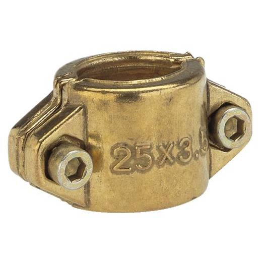 """GARDENA 7211-20 Messing Klemmschalen 25 mm (1"""") Ø"""
