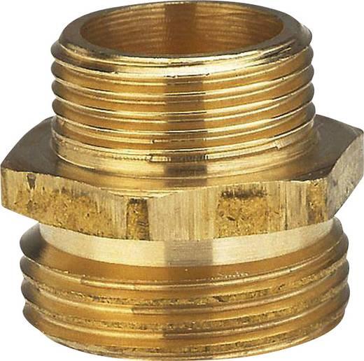 """Messing Reduzierung-Gewindenippel 26,44 mm (3/4"""") AG, 20,96 mm (1/2"""") AG GARDENA 7262-20"""