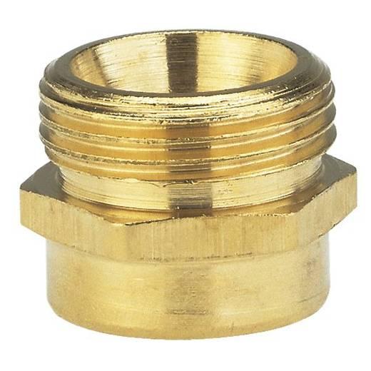 """Messing Reduzierung-Gewindenippel 33,25 mm (1"""") AG, 24,2 mm (3/4"""") IG GARDENA 7265-20"""