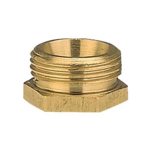 """Messing Reduzierung-Gewindenippel 26,44 mm (3/4"""") AG, 18,7 mm (1/2"""") IG GARDENA 7270-20"""