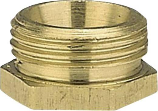 """GARDENA 7273-20 Messing Reduzierung-Gewindenippel 47,81 mm (1 1/2"""") AG, 39,0 mm (1 1/4"""") IG"""