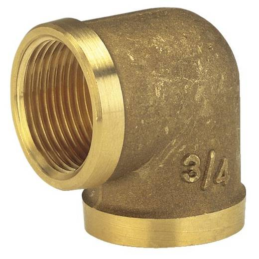"""Messing Winkelstück 39,0 mm (1 1/4"""") IG GARDENA 7282-20"""