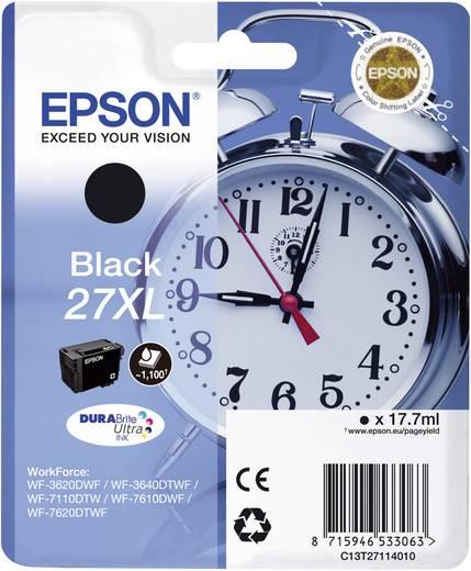 Epson Tinte T2711, 27XL Original Schwarz C13T27114010