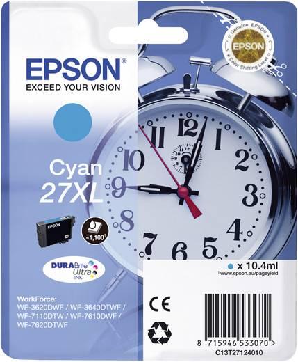 Epson Tinte T2712, 27XL Original Cyan C13T27124010