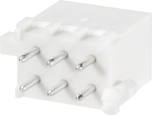 TE Connectivity Stiftgehäuse-Platine Mini-Universal-MATE-N-LOK Polzahl Gesamt 6 Rastermaß: 4.14 mm 1-770875-0 1 St.