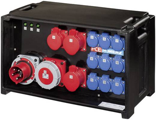 CEE Stromverteiler MZ86503 400 V 63 A PCE Merz