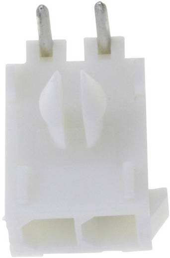TE Connectivity Stiftgehäuse-Platine Mini-Universal-MATE-N-LOK Polzahl Gesamt 2 Rastermaß: 4.14 mm 1-770966-0 1 St.