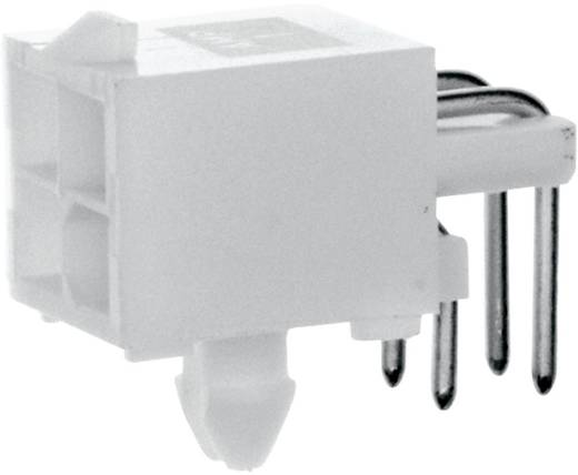 Stiftgehäuse-Platine Mini-Universal-MATE-N-LOK Polzahl Gesamt 4 TE Connectivity 1-770968-0 Rastermaß: 4.14 mm 1 St.