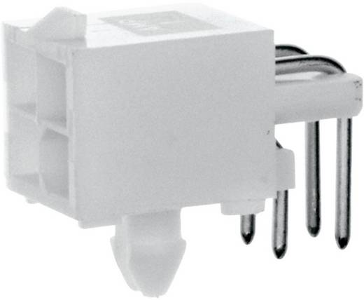 TE Connectivity Stiftgehäuse-Platine Mini-Universal-MATE-N-LOK Polzahl Gesamt 2 Rastermaß: 4.14 mm 1-770966-1 1 St.