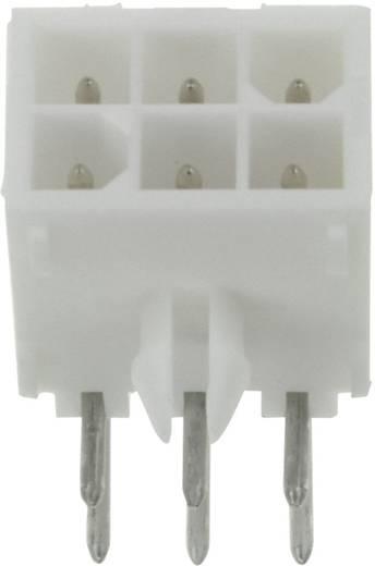 Stiftgehäuse-Platine Mini-Universal-MATE-N-LOK Polzahl Gesamt 6 TE Connectivity 1-770969-0 Rastermaß: 4.14 mm 1 St.