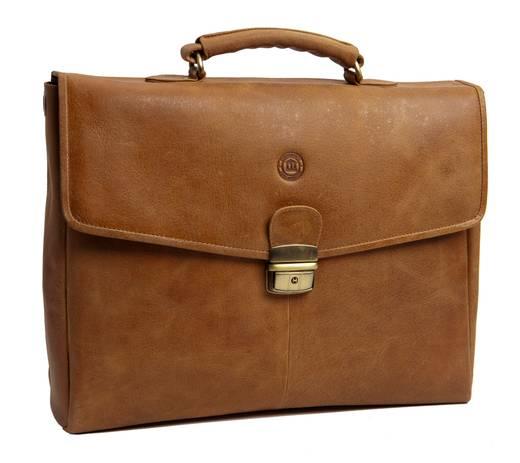 """dbramante1928 Notebook Tasche Briefcase Golden Tan Passend für maximal: 35,8 cm (14,1"""") Braun"""