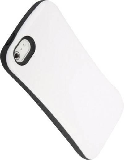 iPhone Backcover iCandy Hard Case Soft Shock Passend für: Apple iPhone 5, Apple iPhone 5S, Apple iPhone SE, Weiß