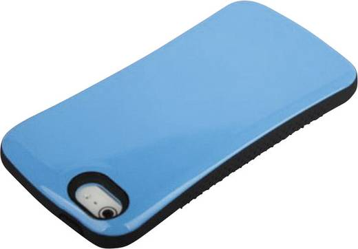 iCandy Hard Case Soft Shock iPhone Backcover Passend für: Apple iPhone 5, Apple iPhone 5S, Apple iPhone SE, Blau