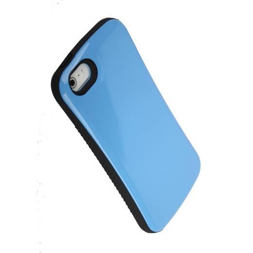 iPhone Backcover iCandy Hard Case Soft Shock Passend für: Apple iPhone 5, Apple iPhone 5S, Apple iPhone SE, Blau