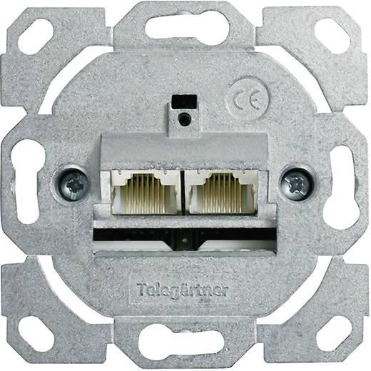 Netzwerkdose Unterputz Einsatz CAT 6 2 Port Telegärtner