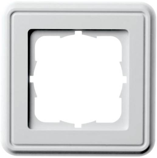 Rahmenplatte 1-fach Telegärtner B00004A0019Y Perl-Weiß