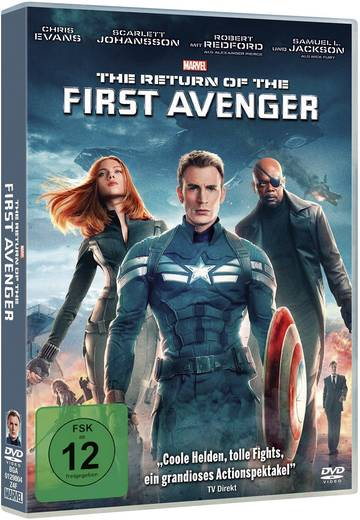 DVD The Return of the First Avenger FSK: 12