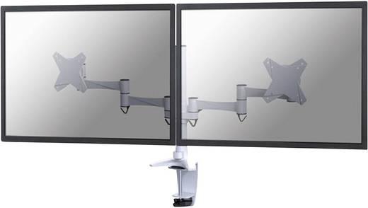 """2fach Monitor-Tischhalterung 25,4 cm (10"""") - 68,6 cm (27"""") Neigbar+Schwenkbar, Rotierbar NewStar Products FPMA-D1330DWHI"""