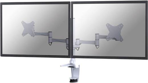 """NewStar FPMA-D1330DWHITE 2fach Monitor-Tischhalterung 25,4 cm (10"""") - 68,6 cm (27"""") Neigbar+Schwenkbar, Rotierbar"""