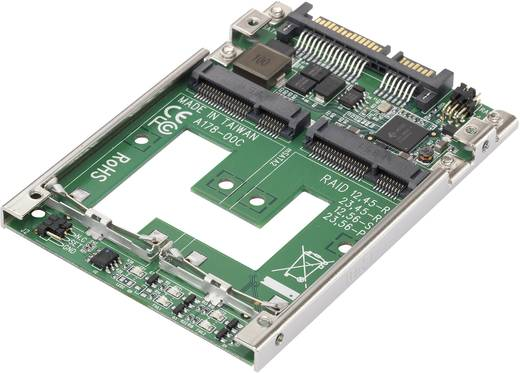 Schnittstellen-Konverter [1x SATA-Kombi-Stecker 7+15pol. - 2x MiniSATA-Buchse] Renkforce