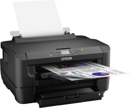 Epson WorkForce WF-7110DTW Tintenstrahldrucker A3 Duplex, LAN, WLAN