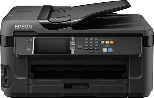 Epson WorkForce WF-7610DWF Tintenstrahl-Multifunktionsdrucker A3+ Drucker, Fax, Kopierer, Scanner ADF, Duplex, LAN, WLAN