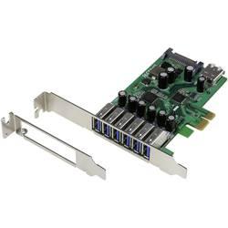 PCIe karta USB 3.0 Renkforce RF-2390066, 6 + 1 port