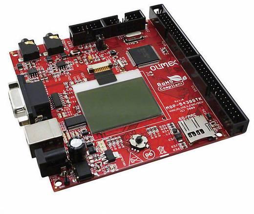 Entwicklungsboard Olimex MSP430-5438STK