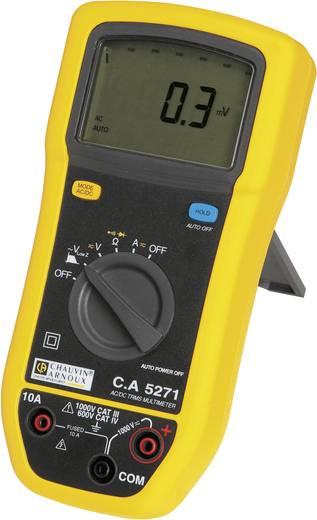 Chauvin Arnoux C.A 5271 Hand-Multimeter digital Kalibriert nach: Werksstandard (ohne Zertifikat) Spritzwassergeschützt (