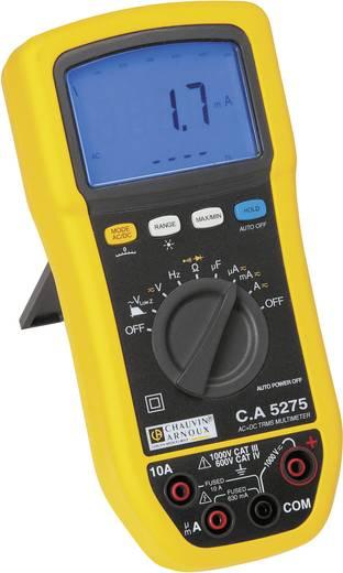 Hand-Multimeter digital Chauvin Arnoux C.A 5275 Kalibriert nach: Werksstandard (ohne Zertifikat) Spritzwassergeschützt (