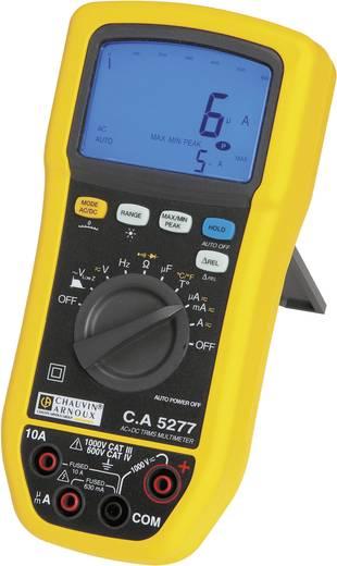 Hand-Multimeter digital Chauvin Arnoux C.A 5277 Kalibriert nach: Werksstandard (ohne Zertifikat) Spritzwassergeschützt (