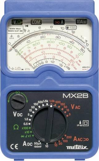 Hand-Multimeter analog Metrix MX2B + MN09 Kalibriert nach: Werksstandard (ohne Zertifikat) Strahlwassergeschützt (IP65)