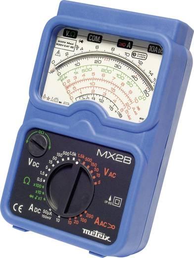 Metrix MX2B+MN09 Hand-Multimeter analog Kalibriert nach: Werksstandard (ohne Zertifikat) Strahlwassergeschützt (IP65) CA