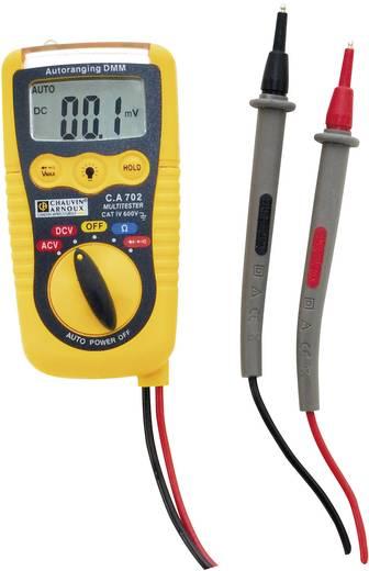 Hand-Multimeter Chauvin Arnoux C.A 702 Kalibriert nach: Werksstandard (ohne Zertifikat)
