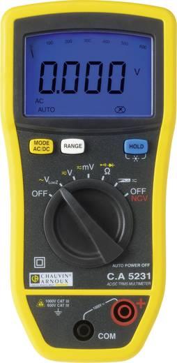 Hand-Multimeter Chauvin Arnoux C.A 5231+Mini03 Kalibriert nach: Werksstandard (ohne Zertifikat)