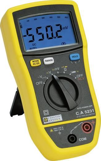 Hand-Multimeter Chauvin Arnoux C.A 5231 Kalibriert nach: Werksstandard (ohne Zertifikat)