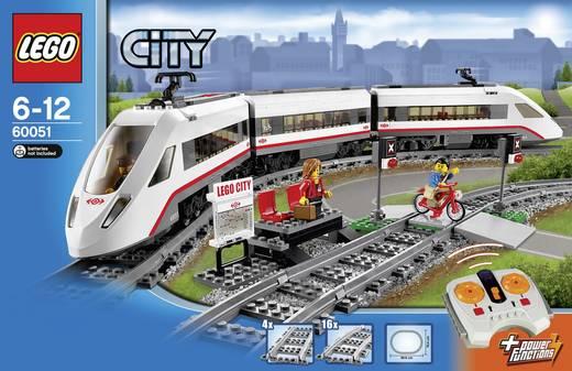 LEGO® CITY 60051 Hochgeschwindigkeitszug