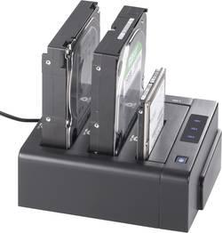 Station d'accueil pour disque dur Renkforce rf-docking-05 - USB 3.0, eSATA - SATA - 3 ports