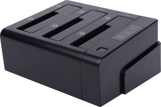 Renkforce rf-docking-05 USB 3.0, eSATA SATA 3 Port Festplatten-Dockingstation