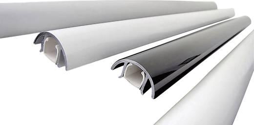 Kabelkanal (L x B x H) 400 x 30 x 15 mm Alunovo MAL-040 1 St. Silber (matt, eloxiert)