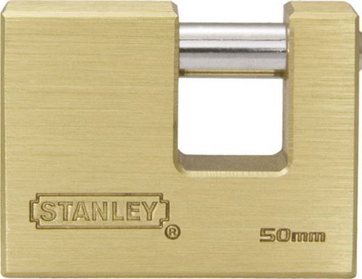 Stanley Vorhängeschlösser 81090371401 Vorhängeschloss 22 mm Messing Schlüsselschloss