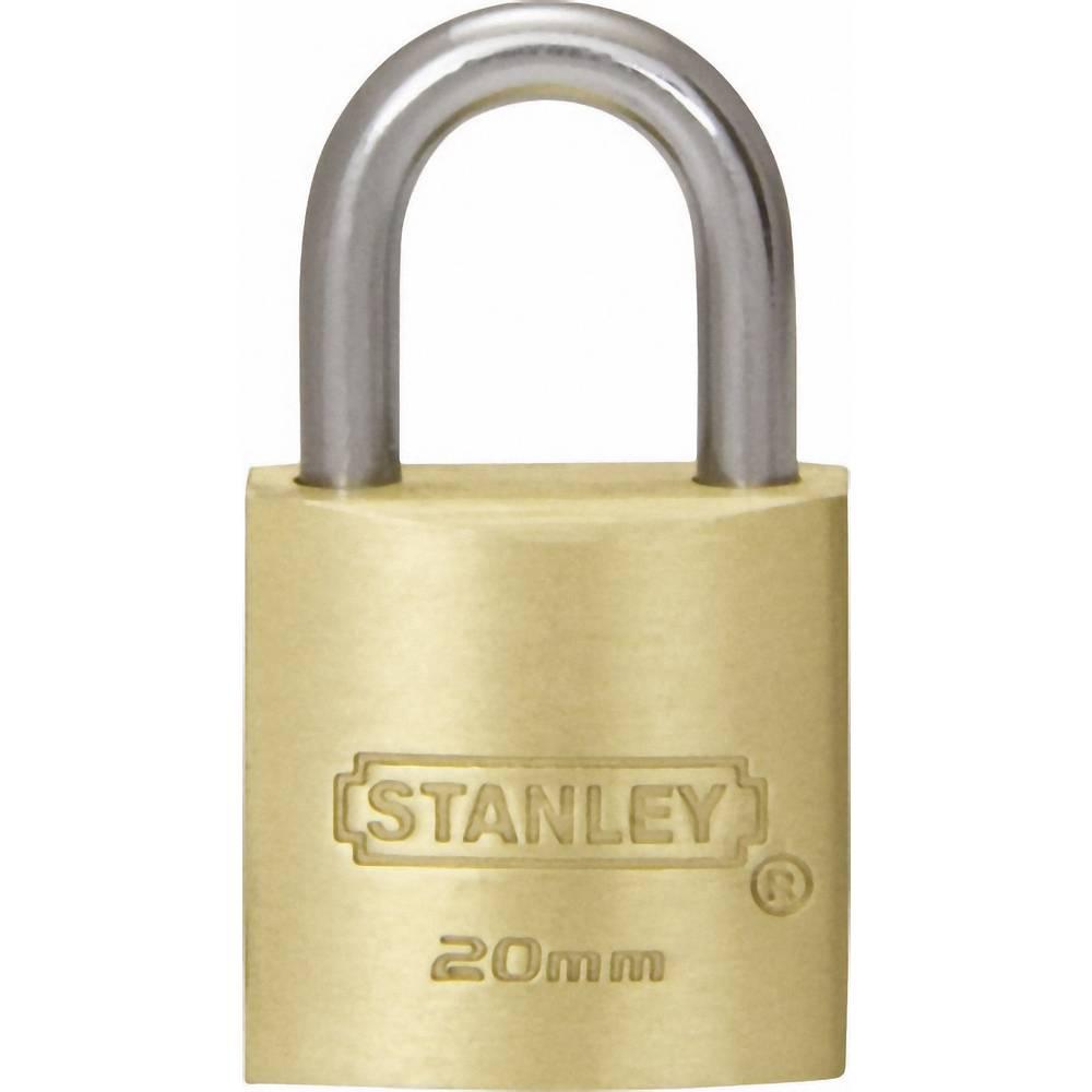 Vorhängeschloss 20 mm Stanley Vorhängeschlösser 81100371401 Messing ...