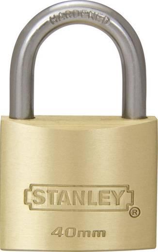 Stanley Vorhängeschlösser 81103371401 Vorhängeschloss 40 mm Messing Schlüsselschloss