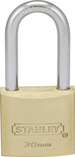 Stanley Vorhängeschlösser 81112371401 Vorhängeschloss 30 mm Messing Schlüsselschloss