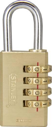 Stanley Vorhängeschlösser 81133371401 Vorhängeschloss 40 mm Messing Zahlenschloss